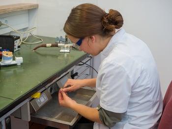Dental lab bench 2